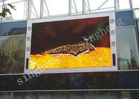 Outdoor P4 Full Color LED Display 62500 Dots/Sqm Pixel Density IP65 Degree