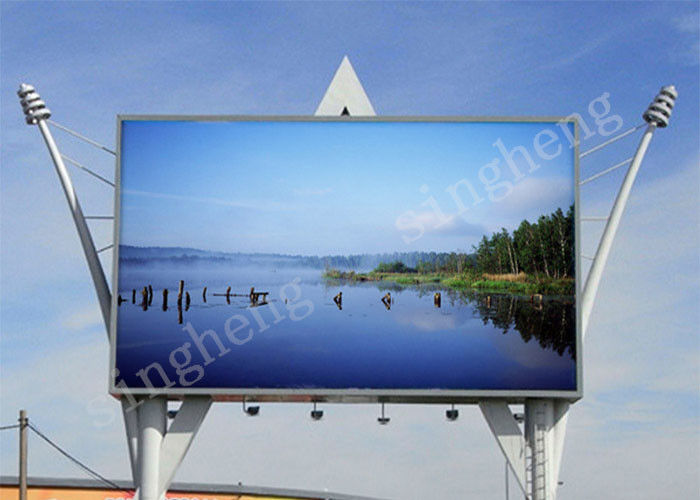 8mm Pixel Pitch Led Video Wall Panels Iron Cabinet Materials 5000 Hours MTBF