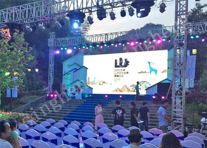 Adaptable Sized, Economical, Mobile High Precision Outdoor Rental Led Screen P4.81 for Public Events